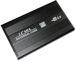 Case Para Hd Notebook Sata 2,5 Usb 2.0 /  - Mega Computadores