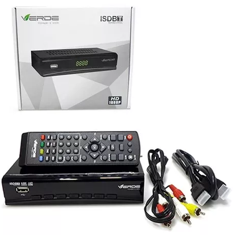 Conversor Digital P/ Tv Isdb-t - Sinal Digital (isd-t1)  - Mega Computadores