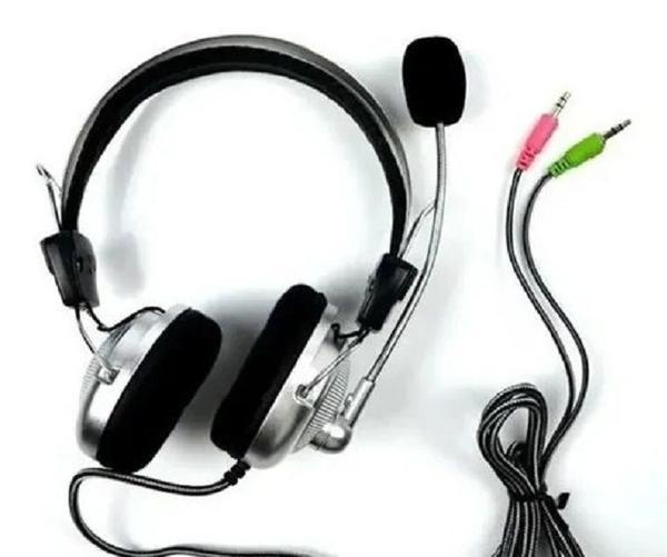 Fone De Ouvido Headset Super Bass Com Microfone Kt-301  - Mega Computadores