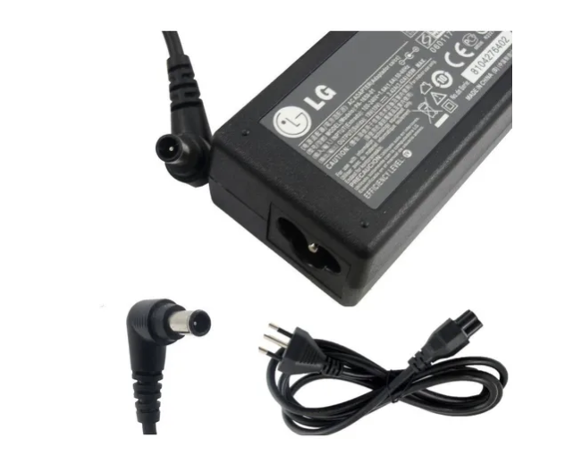 Fonte Para Monitor  (MM 760) Tv LG - 12V/3A (Modelo: MM760 ) 6.5x4.4mm  - Mega Computadores