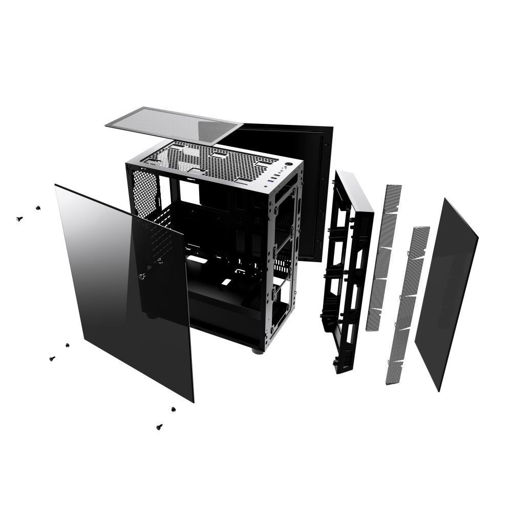 Gabinete Gamer Infinity III – CG-03G8  - Mega Computadores