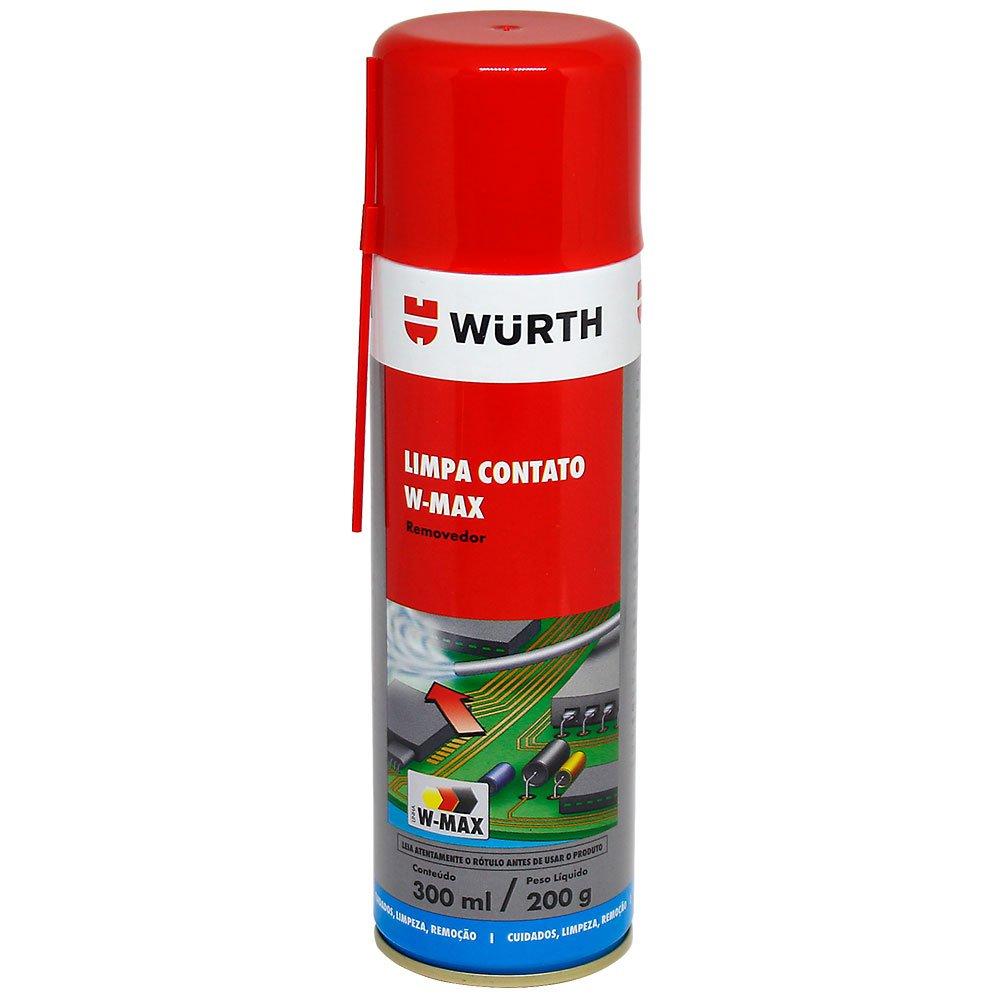 Limpa Contato W-Max De 300ml Wurth  - Mega Computadores