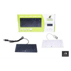 Mini Teclado Slim USB XC-TEC-02 - X-cell  - Mega Computadores