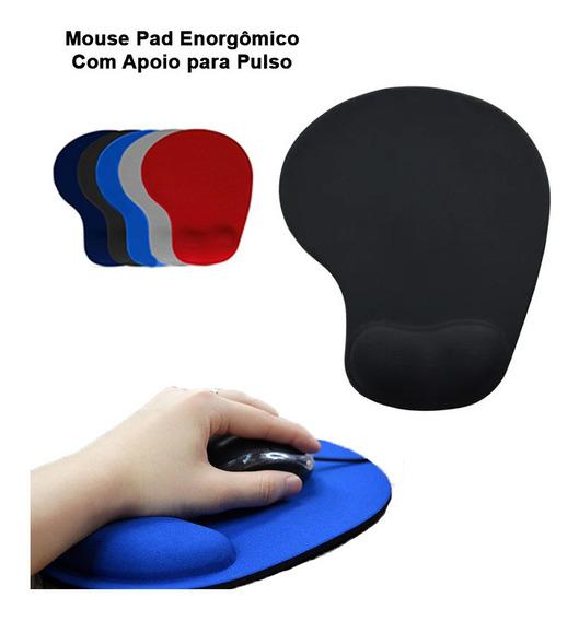 Mouse Pad Ergonômico MBTech MB84200 Com Apoio em Gel  - Mega Computadores