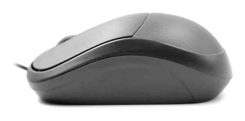 Mouse USB MS-35BK Preto C3Plus  - Mega Computadores