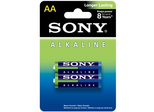 Pilha AA Sony 2 UN. AM3 AA-LR6 Alcalina 1.5V  - Mega Computadores