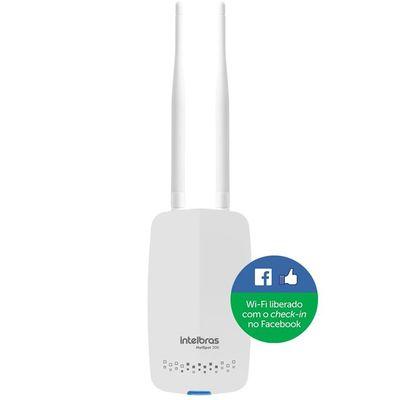 Roteador Wireless Intelbrás Hotspot 300 Com Check-in no Facebook  - Mega Computadores