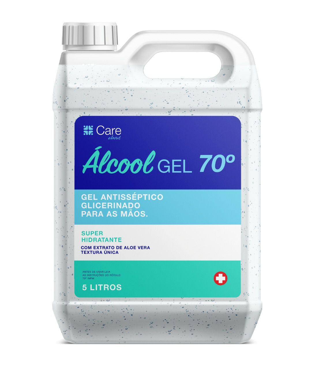 Álcool GEL 70° 5L CARE ABOUT