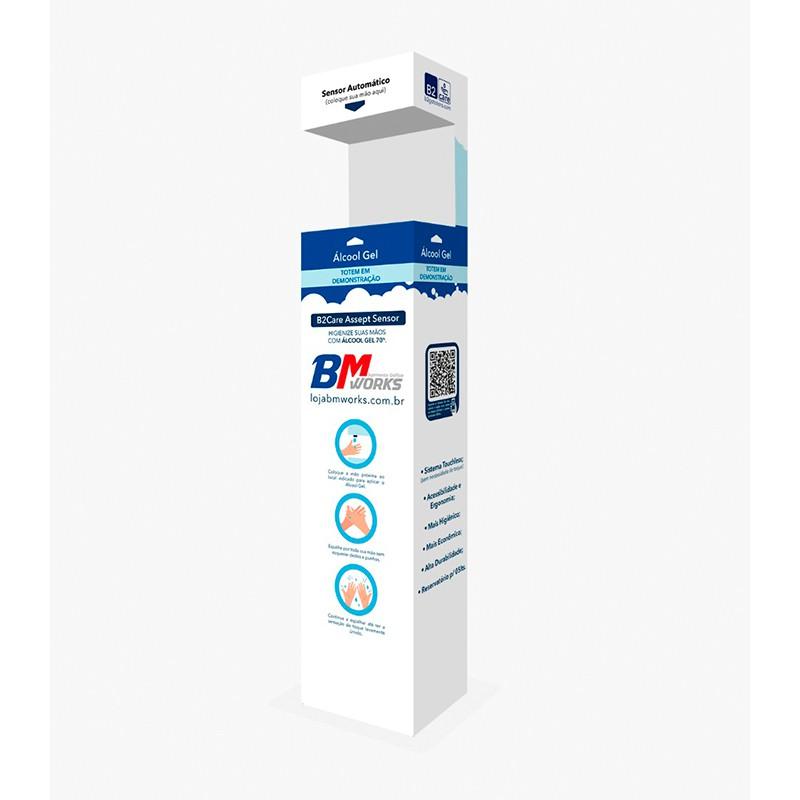 "B2Care V.1 (Totem Álcool em Gel ""touch free"") | COMPRA (SEMI NOVOS)"
