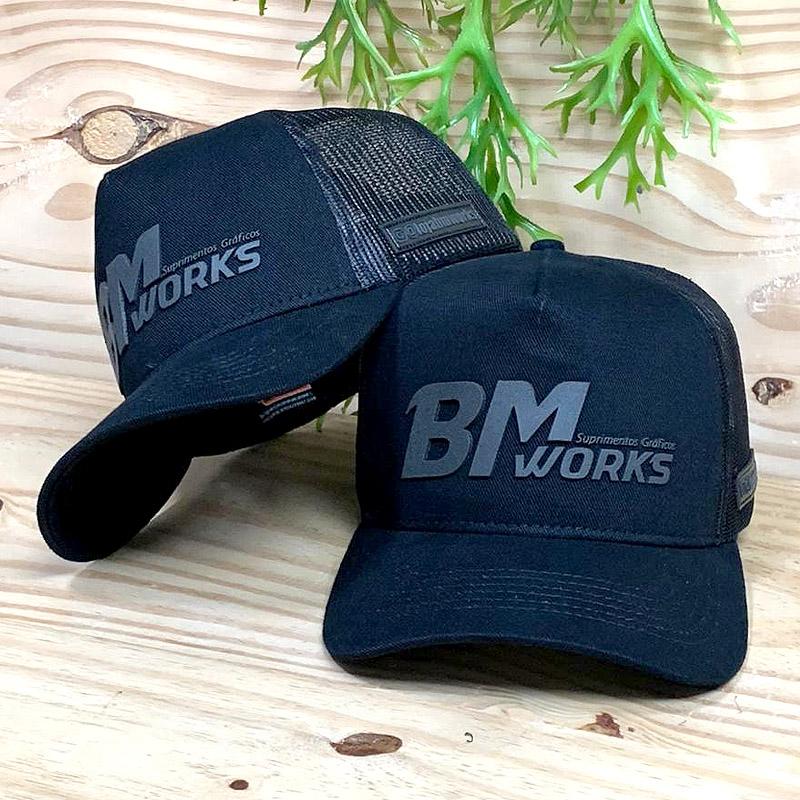 Boné Premium Trucker   BM WORKS