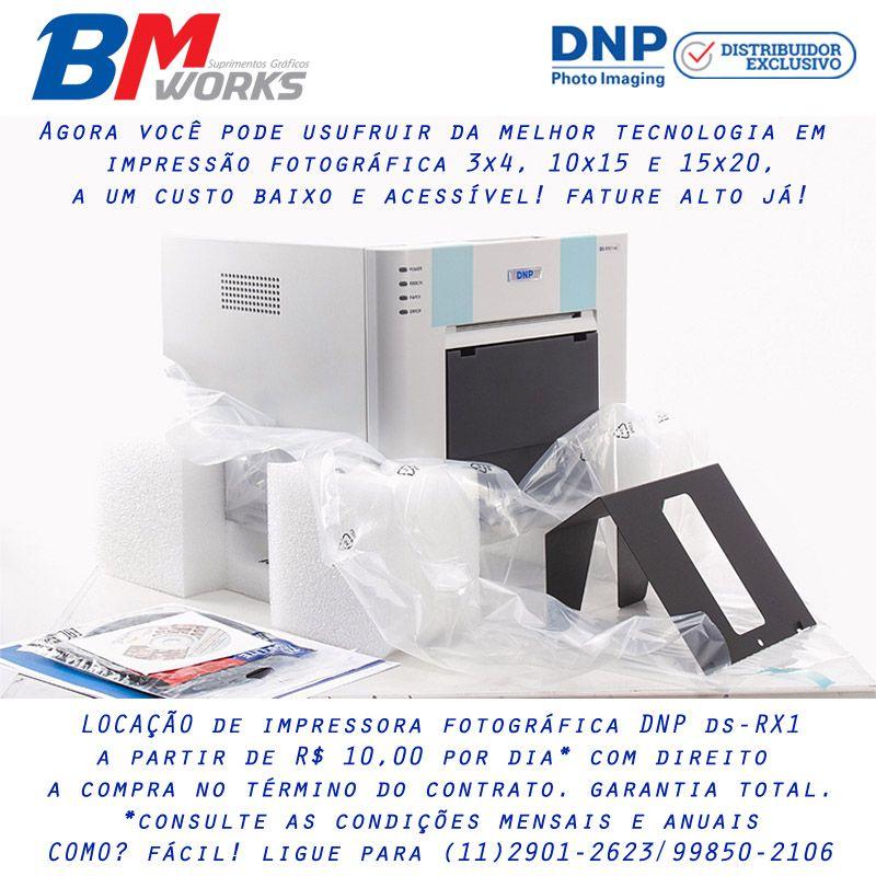 Aluguel de Impressora Fotográfica DNP RX1 (Semestral/Anual)