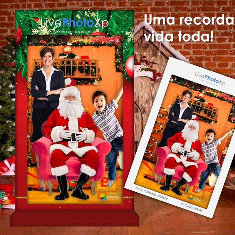 LivePhotoXP - Natal Mágico com Noel