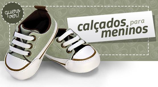 calçados meninos