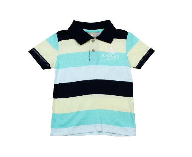 Camisa gola masculina Listrada Praia Milon