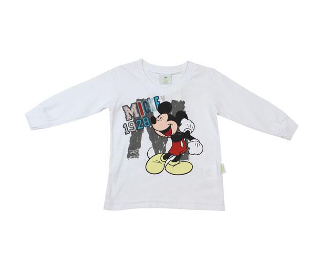 Camiseta Manga Longa Mickey Disney Brandili