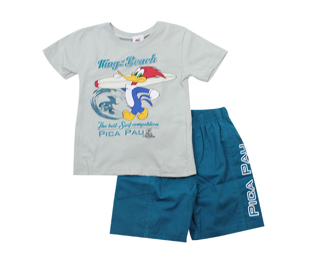Conjunto Pica Pau King of the Beach Brandili