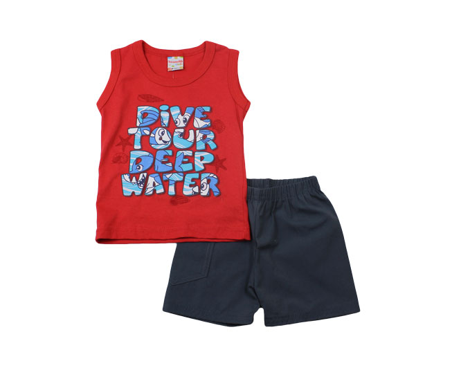 Conjunto Regata Dive Tour Deep Water Brandili