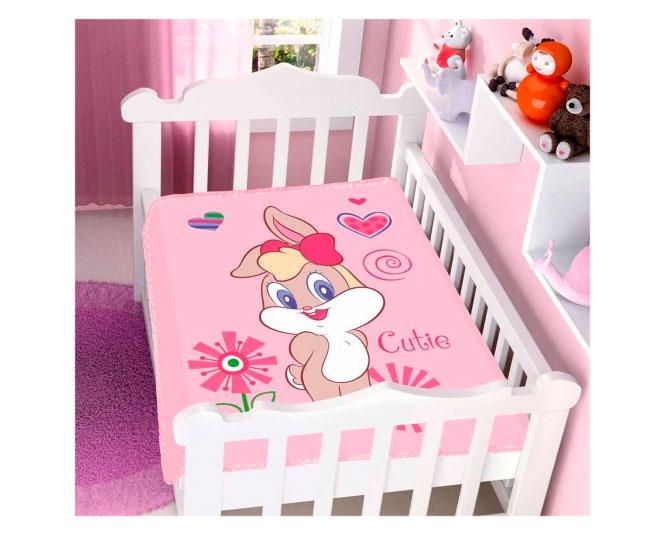 Manta de Mivrofibra Jolitex Ternille Baby Looney Tunes Cutie
