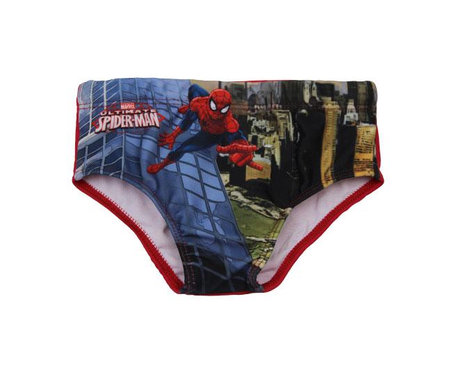Sunga Infantil Tip Top Casual Vermelha Estampada Homem-Aranha