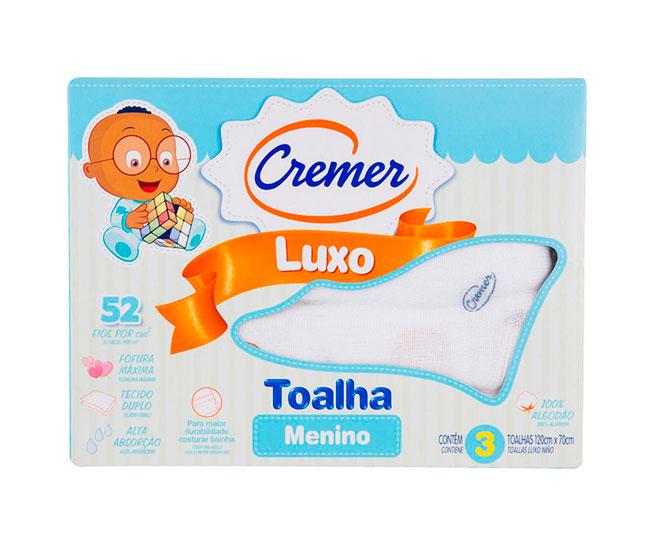 Toalha Luxo Menino Cremer