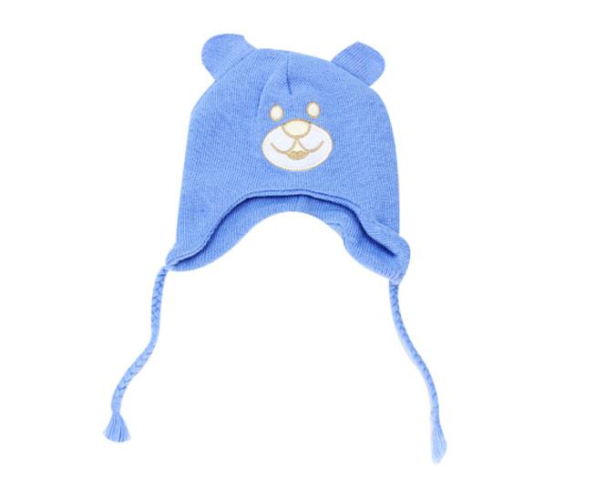 Touca  Ursinho Azul Everly