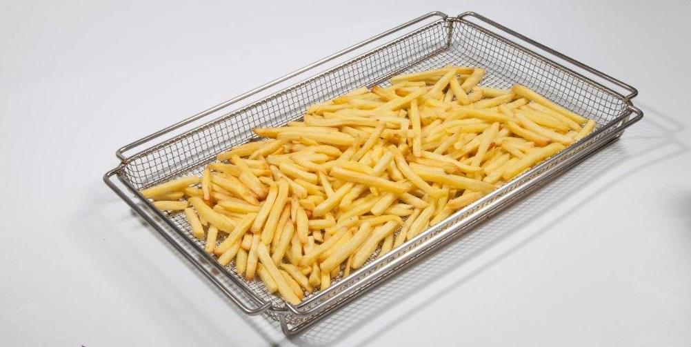 GN 1/1 expandida 45mm para frituras