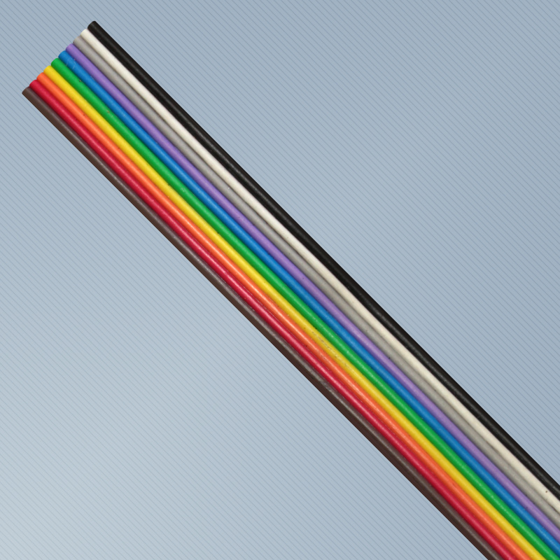 CABO FLAT SN 10X28AWG 150V 70C