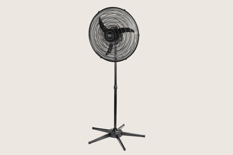 Ventilador de Coluna 60 cm Grade PP Preto Bivolt
