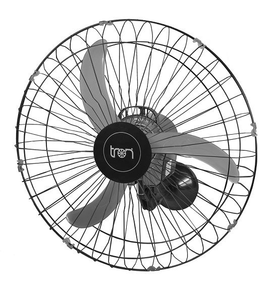 Ventilador de Parede 65 cm Bivolt Preto