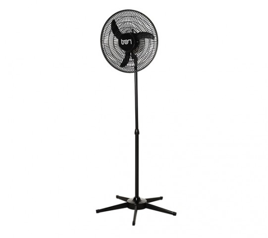 Ventilador de Coluna 50 cm PP Preto Bivolt