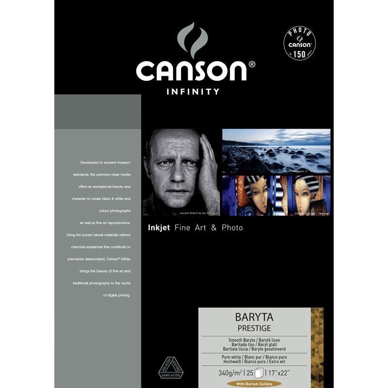 Canson® Infinity Baryta Prestige 340 g/m²