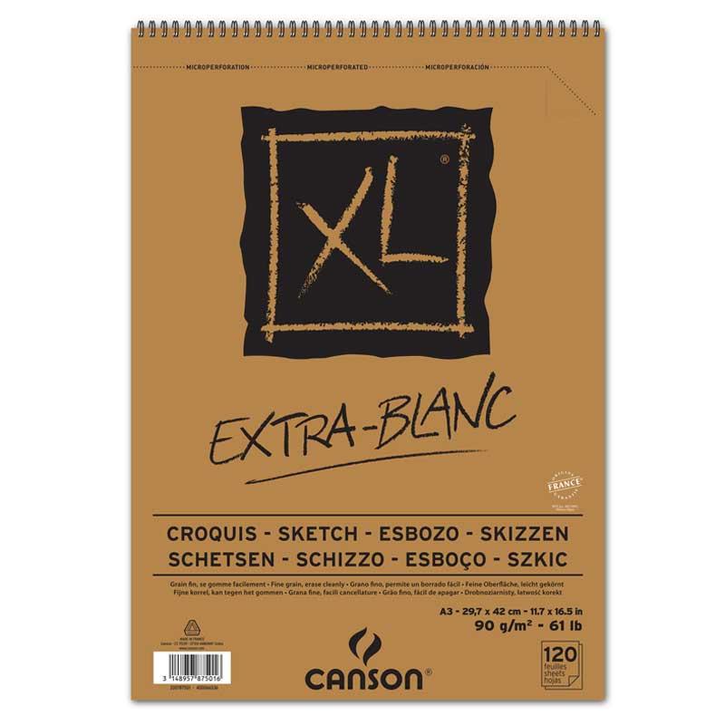 Canson® XL® Extra Blanc  90gm²