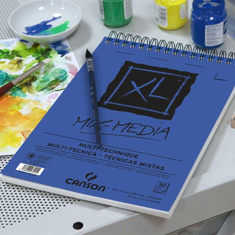 Canson® XL® Mix Media 30 folhas 300 g/m²