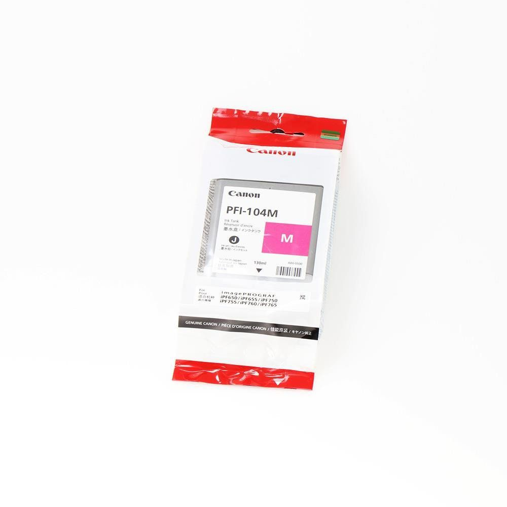 Cartucho de tinta Canon PFI104 Magenta (130ml)