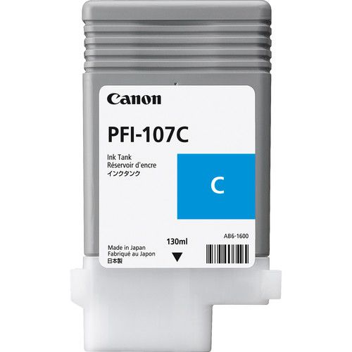 Cartucho de Tinta Canon PFI107 (130ML)