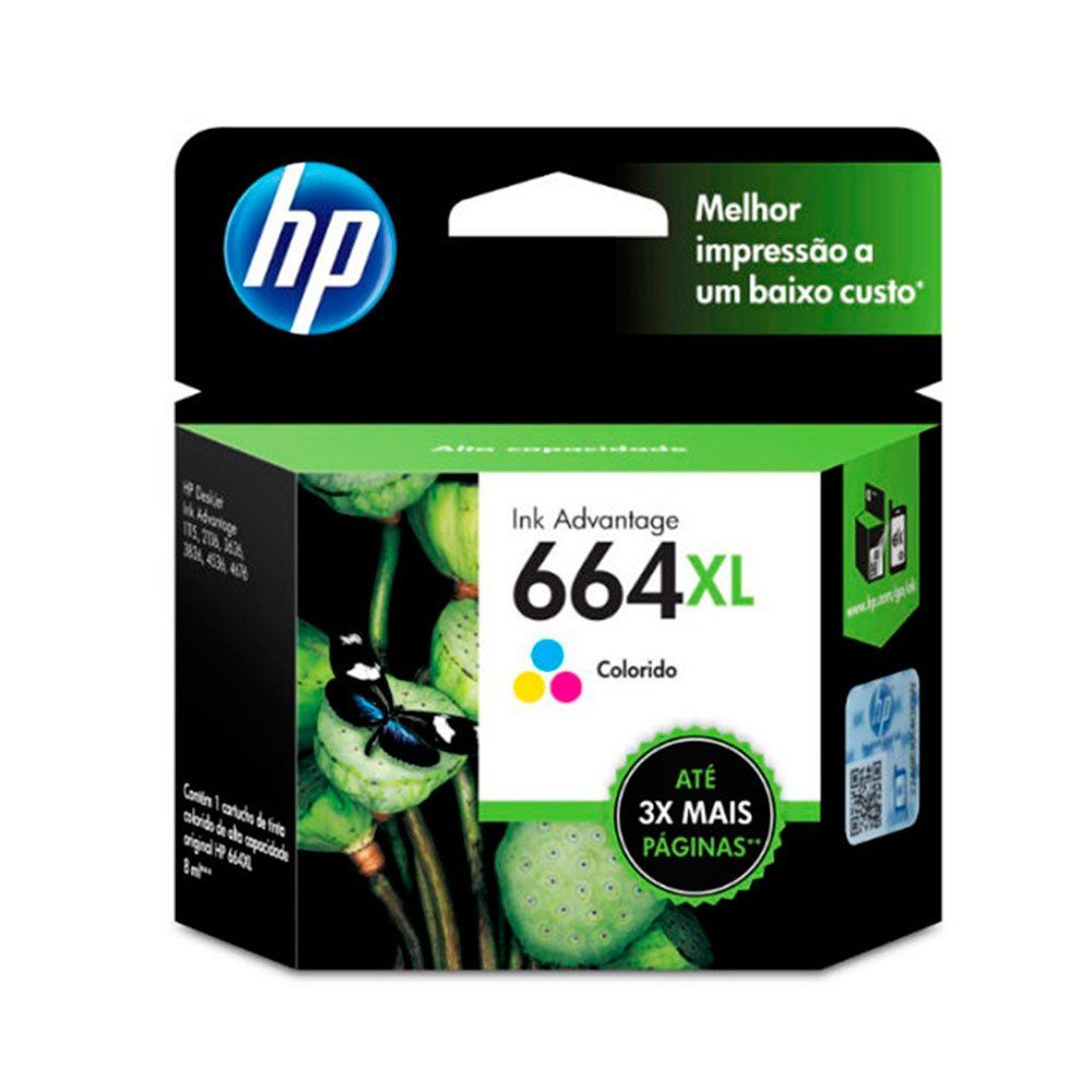 Cartucho de Tinta HP 664XL Original