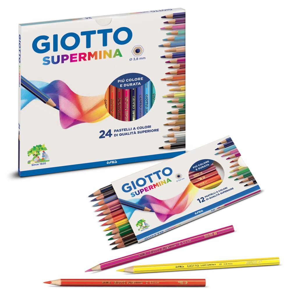Estojo de lápis de cor Giotto Supermina