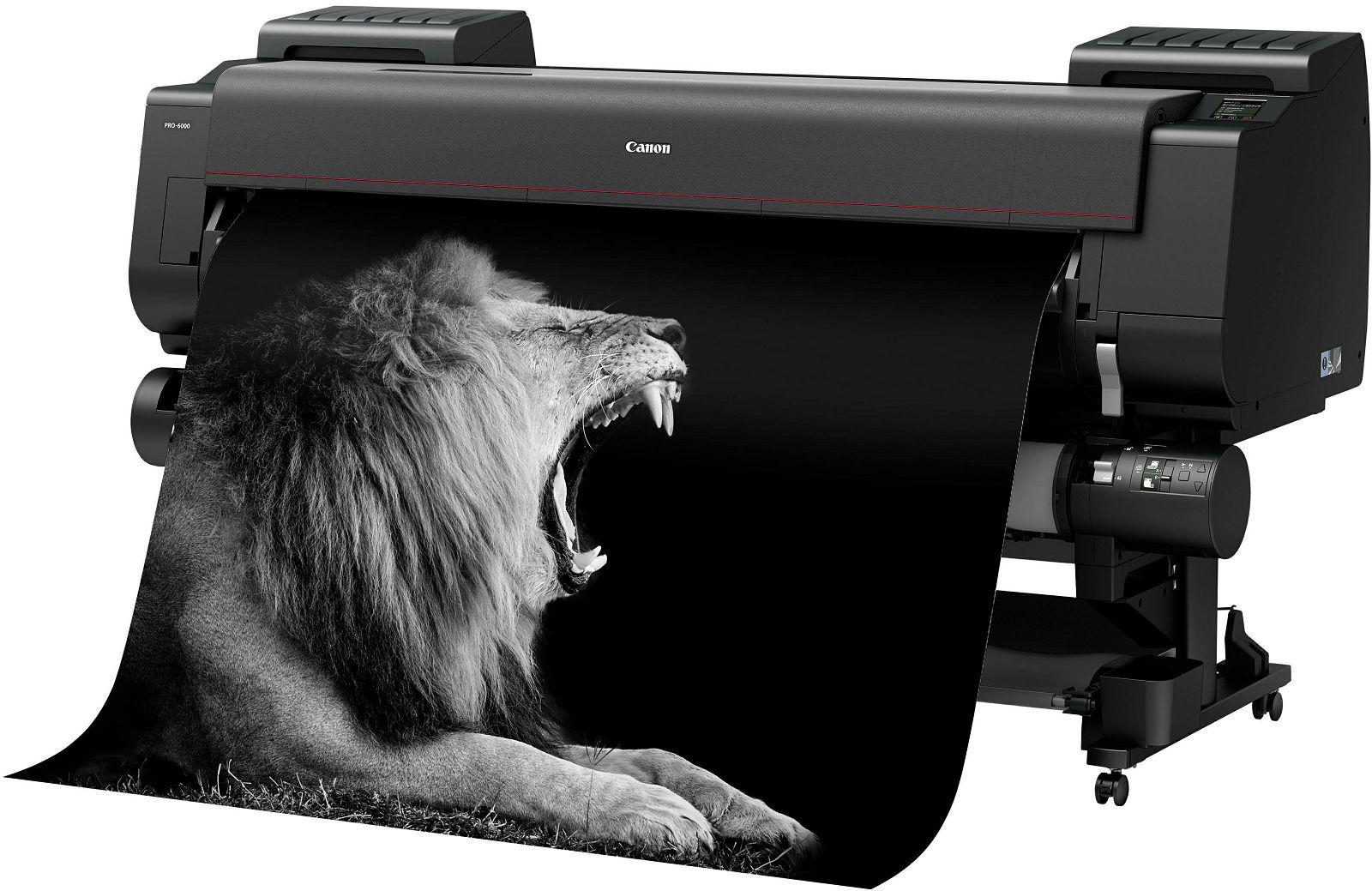 Plotter Canon imagePROGRAF PRO6000 - Incluso treinamento remoto