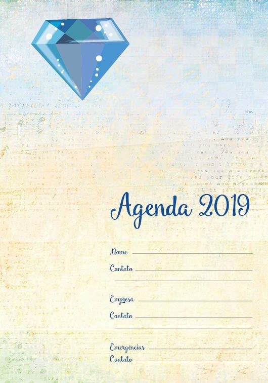 Folha de rosto Agenda 2019 . DIA UNI