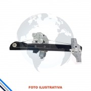 Maquina Vidro Pt Diant Esq Elet C/Motor 208 2013-2016 Original