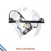 Maquina Vidro Pt Tras Esq  C/Mot Ford Fiesta Hatch/Sedan 2002-2014 Original