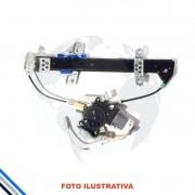 Maquina Vidro Pt Tras Esq Elet C/Motor Honda Fit 2003-2008 Original