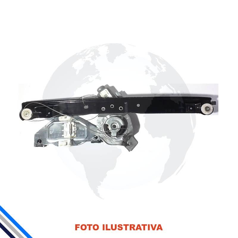Maquina Vidro Pt Diant Dir  C/Motor Citroen C3 2013-2016 Original