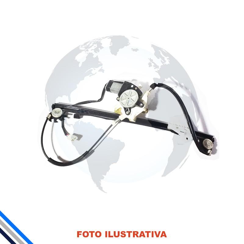 Maquina Vidro Pt Tras Dir C/Motor Ford Fiesta Hatch/Sedan 2002-2014 Original