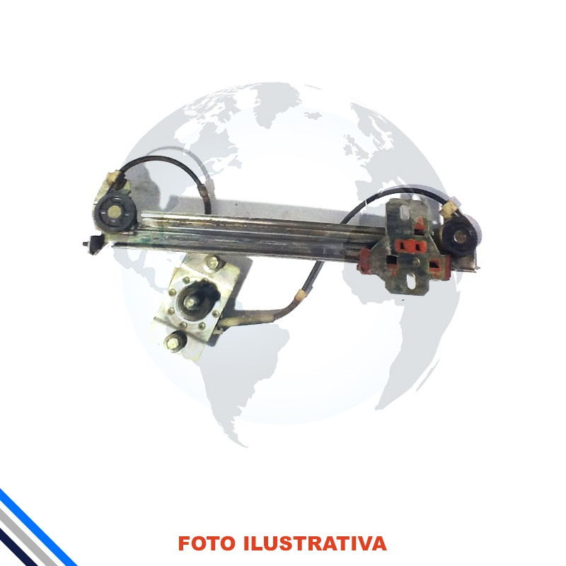 Maquina Vidro Traseira Esquerda Fiat Uno/Mille/Elba/Premio 1984-2013