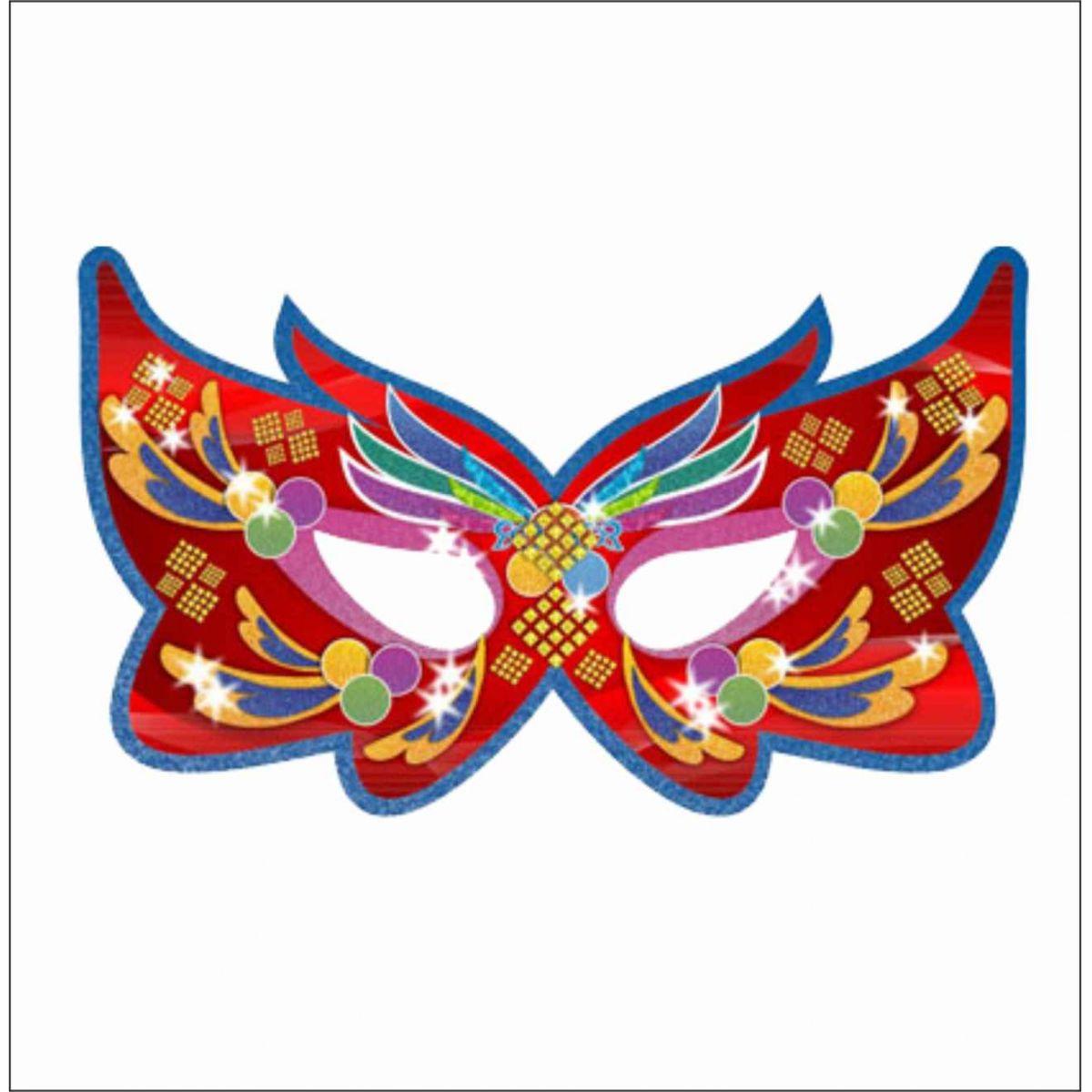 M bile m scara carnaval 62x92cm cartazbr - Mascaras para carnaval ...