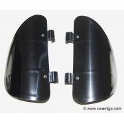 Defletor de Ar para Fusca em Inox ( 02 pçs )