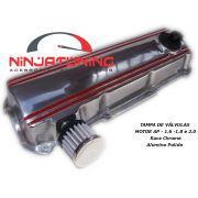 Tampa de Válvulas para Motor AP - 1.6 , 1.8 e 2.0 - Alumínio Polido