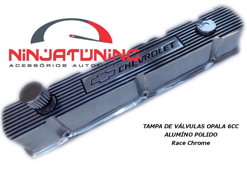 Tampa de Válvulas em Alumínio Polido Opala - 6cc
