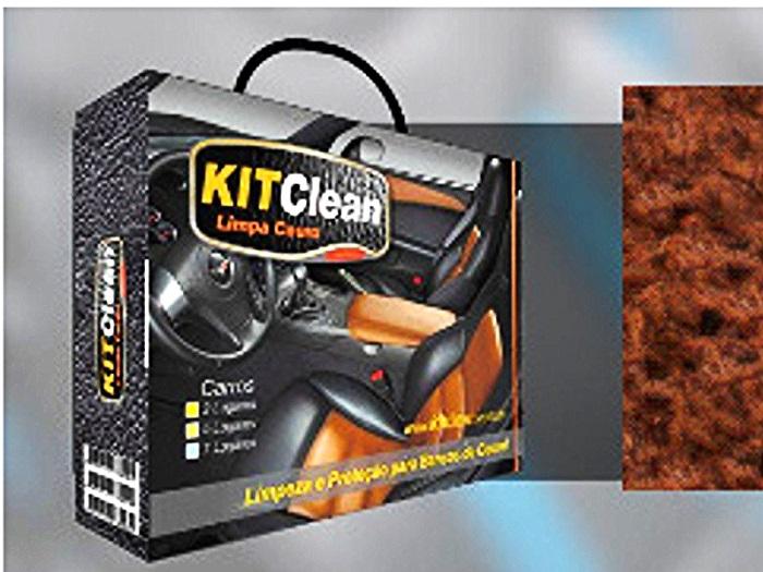KITCLEAN Limpa Couro - Limpeza e Proteção para Bancos de Couro